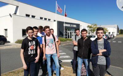 Visite d'entreprises au Cormier par  les 2 CEN